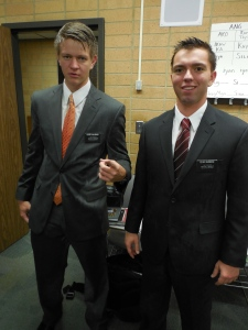 Hunter and Elder Salisbury being weird