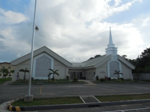 The church building we meet at in Tanza.