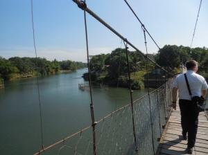 Bridge across a river!