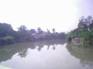The Salinas River near Kawit